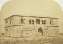 Post Office, Kurrachee [Karachi]. Cost £4415. Designed by Captain P. Phelps, RE.